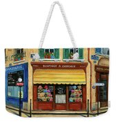 French Hats And Purses Boutique Weekender Tote Bag by Marilyn Dunlap