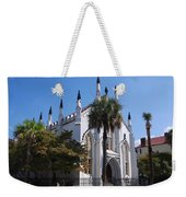 French Huguenot Church In Charleston Weekender Tote Bag