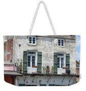 French Market Cafe Weekender Tote Bag