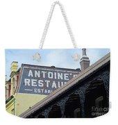 French Quarter 12 Weekender Tote Bag