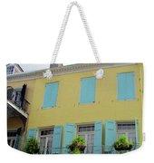 French Quarter 20 Weekender Tote Bag