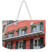 French Quarter 21 Weekender Tote Bag