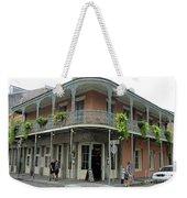 French Quarter 3 Weekender Tote Bag