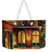 French Quarter Alley Weekender Tote Bag