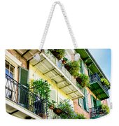 French Quarter Balconies - Nola Weekender Tote Bag