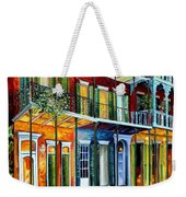 French Quarter Charm Weekender Tote Bag