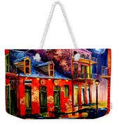 French Quarter Dazzle Weekender Tote Bag