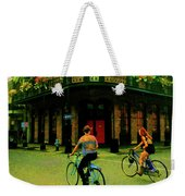 French Quarter Flirting On The Go Weekender Tote Bag