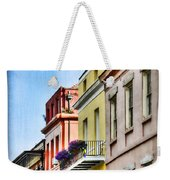 French Quarter In Summer Weekender Tote Bag