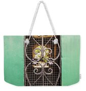 French Quarter Window To The Courtyard Weekender Tote Bag