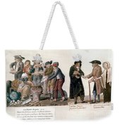 French Revolution, 1795-96 Weekender Tote Bag