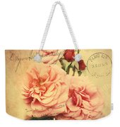 French Rose Bouquet Weekender Tote Bag
