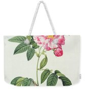French Rose Weekender Tote Bag by Pierre Joseph Redoute