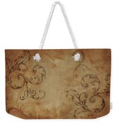 French Scrolls Weekender Tote Bag by Jocelyn Friis