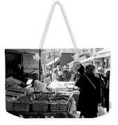 French Street Market Weekender Tote Bag