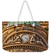 French Time Weekender Tote Bag