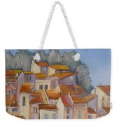 French Villlage Painting Weekender Tote Bag