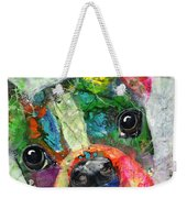 Frenchie Weekender Tote Bag
