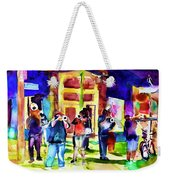 Frenchman Street Weekender Tote Bag