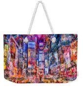 Frenzy New York City Weekender Tote Bag