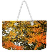 Fresco Autumn Diptych Right Weekender Tote Bag
