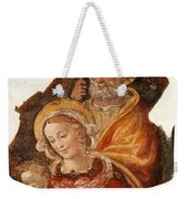 Fresco Holy Family Weekender Tote Bag