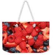 Fresh Berry Salad  Weekender Tote Bag