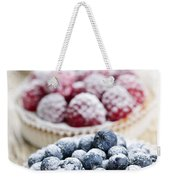 Fresh Berry Tarts Weekender Tote Bag