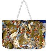 Fresh Crab In Market Weekender Tote Bag