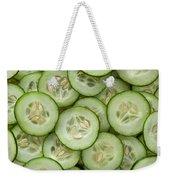 Fresh Cucumbers Weekender Tote Bag