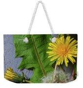 Dandelions Weekender Tote Bag