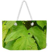 Fresh English Golden Hop Weekender Tote Bag