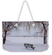 Fresh Fallen Snow Weekender Tote Bag