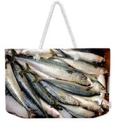 Fresh Fishes In A Market 2 Weekender Tote Bag