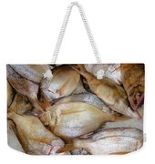 Fresh Fishes In A Market 4 Weekender Tote Bag