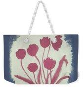 Fresh Flowers- 1st In Series-morning Shadow Weekender Tote Bag