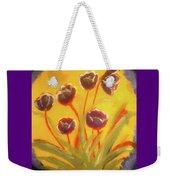 Fresh Flowers- 2nd In Series- The Dawn Weekender Tote Bag