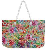 Fresh Flowers. Weekender Tote Bag