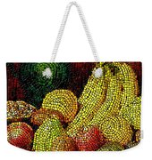 Fresh Fruit Tiled Weekender Tote Bag