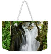Fresh Green Forest In Spring At Lepenica River Gorge At Sunikov  Weekender Tote Bag