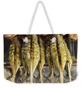Fresh Grilled Asian Fish In Kep Market Cambodia Weekender Tote Bag