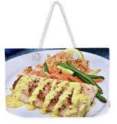 Fresh Grilled Fish Weekender Tote Bag