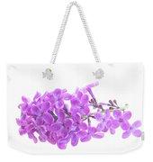 Fresh Lilac Weekender Tote Bag