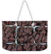 Fresh Marionberries Weekender Tote Bag
