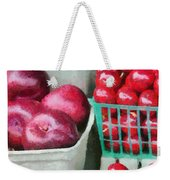 Fresh Market Fruit Weekender Tote Bag