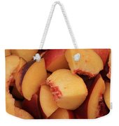 Fresh Peaches Weekender Tote Bag