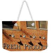 Fresh Produce Signage Weekender Tote Bag