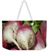 Fresh Radish Harvest. Weekender Tote Bag
