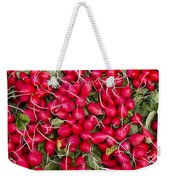 Fresh Red Radishes Weekender Tote Bag
