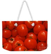 Fresh Red Tomatoes Weekender Tote Bag
